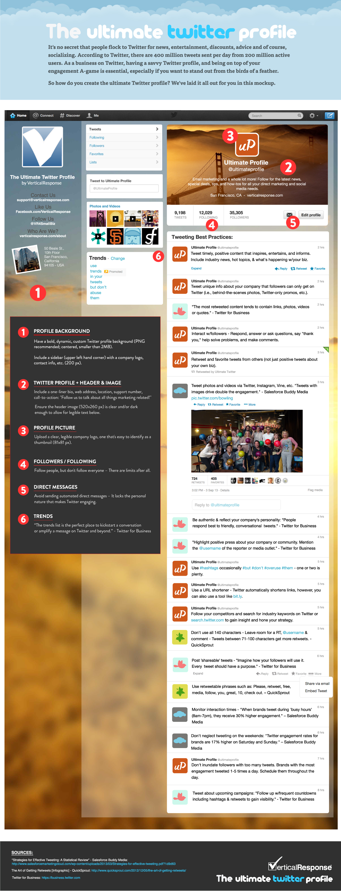 The Ultimate Twitter Profile [Infographic]