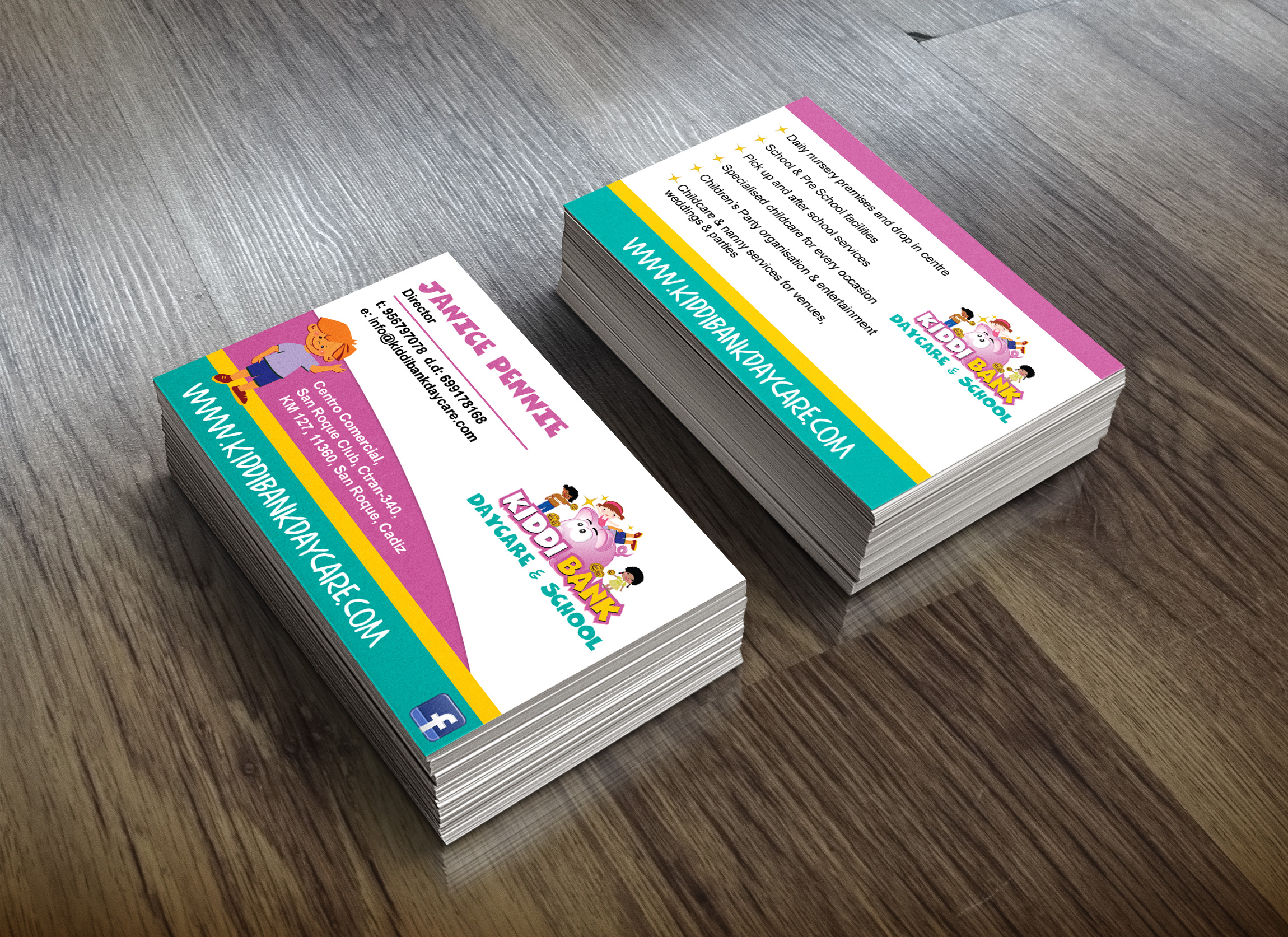 kiddibank-business-cards